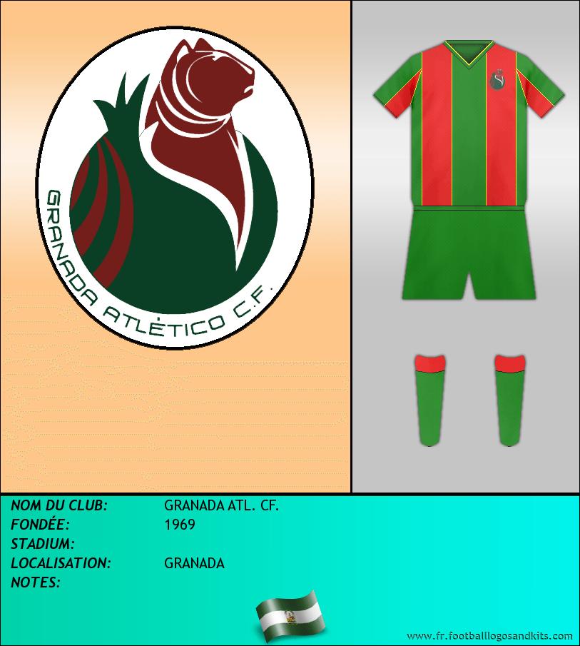Logo de GRANADA ATL. CF.