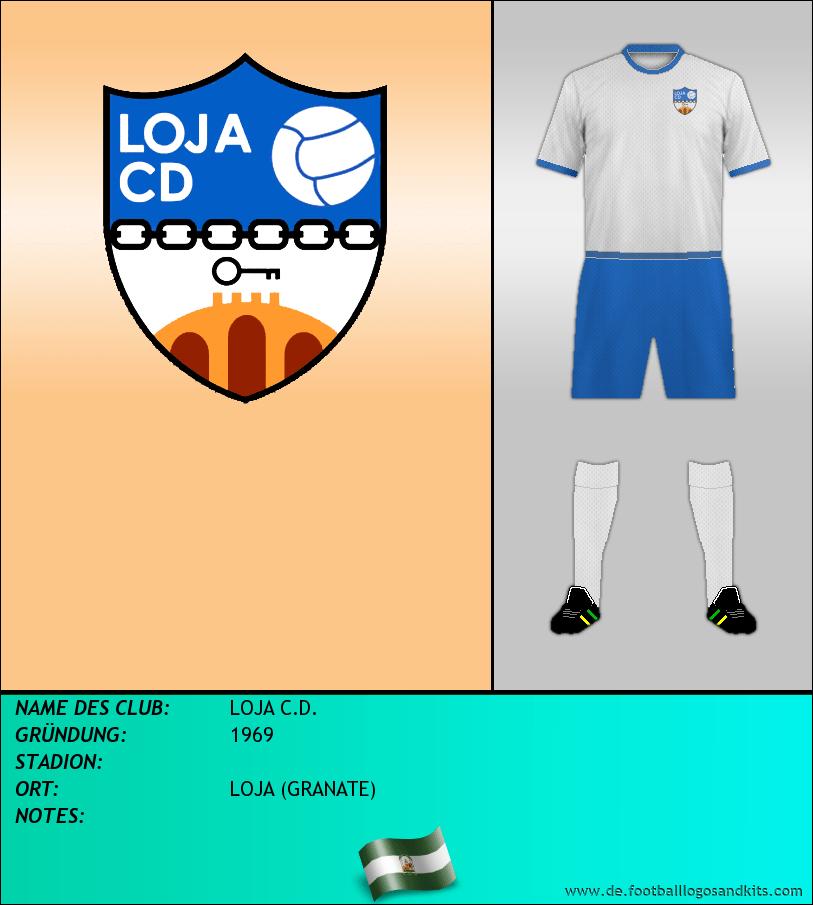 Logo LOJA C.D.