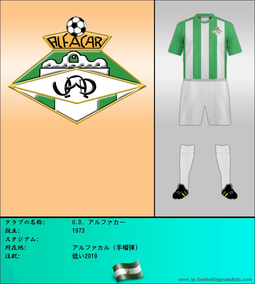 のロゴU.D. アルファカル