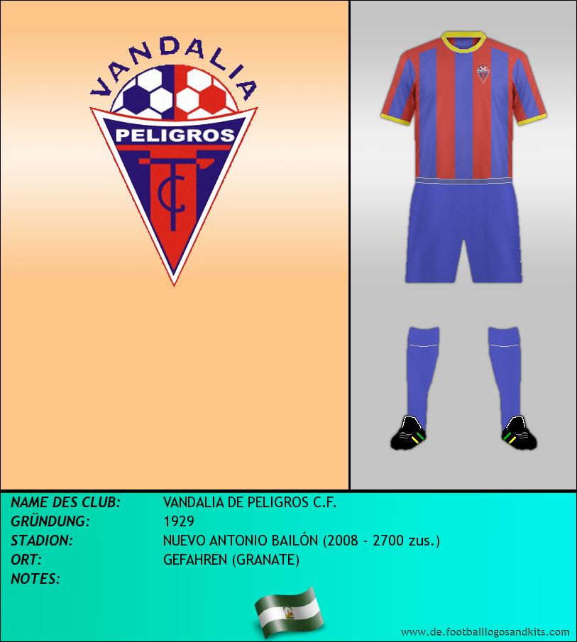 Logo VANDALIA DE PELIGROS C.F.