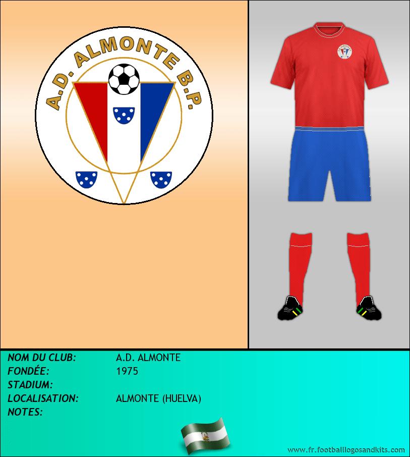 Logo de A.D. ALMONTE