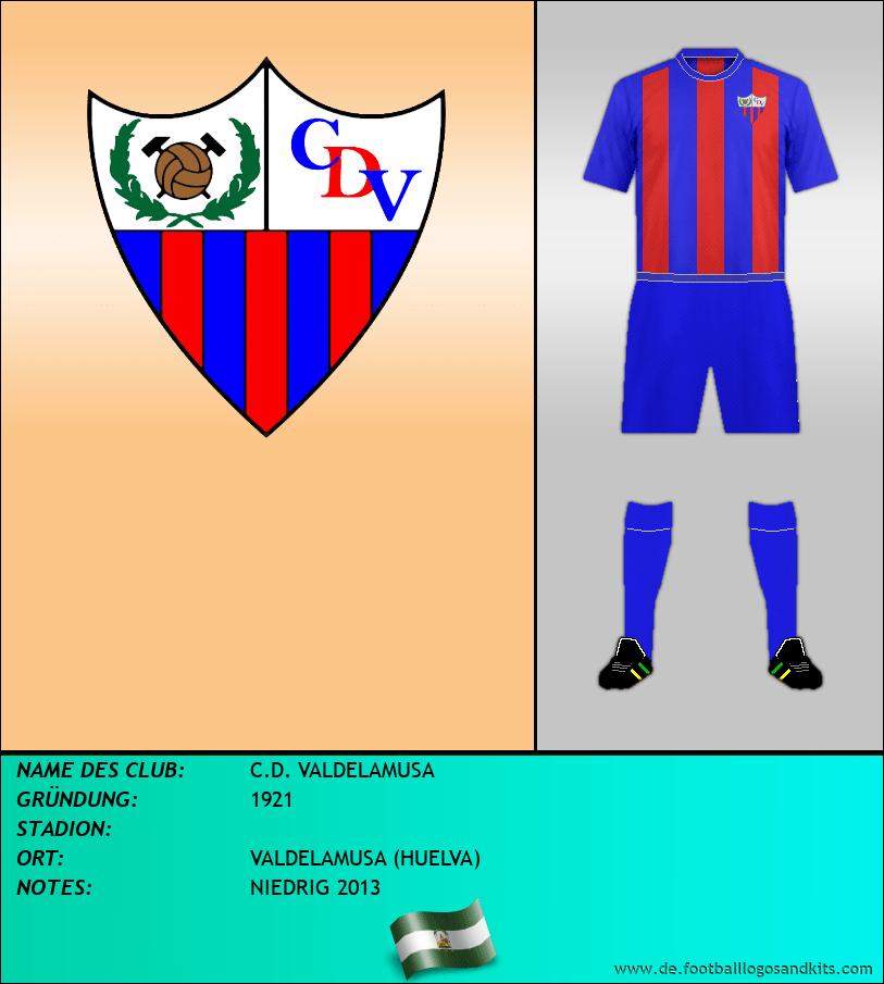 Logo C.D. VALDELAMUSA