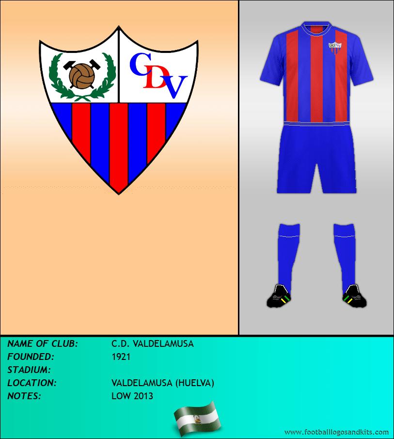 Logo of C.D. VALDELAMUSA