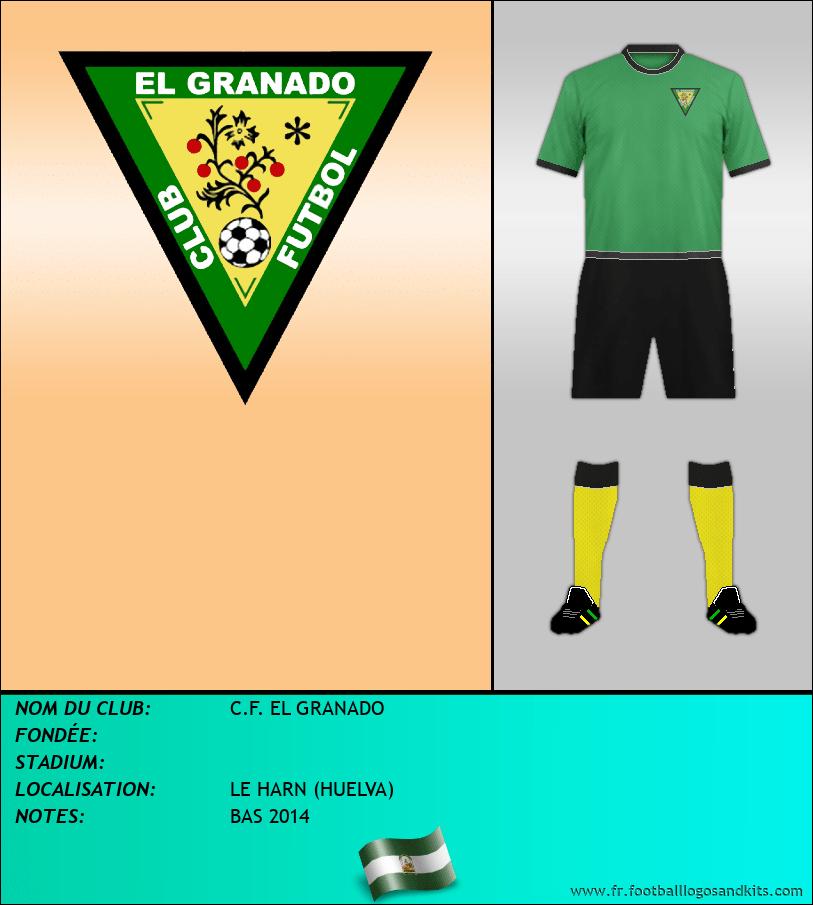 Logo de C.F. EL GRANADO
