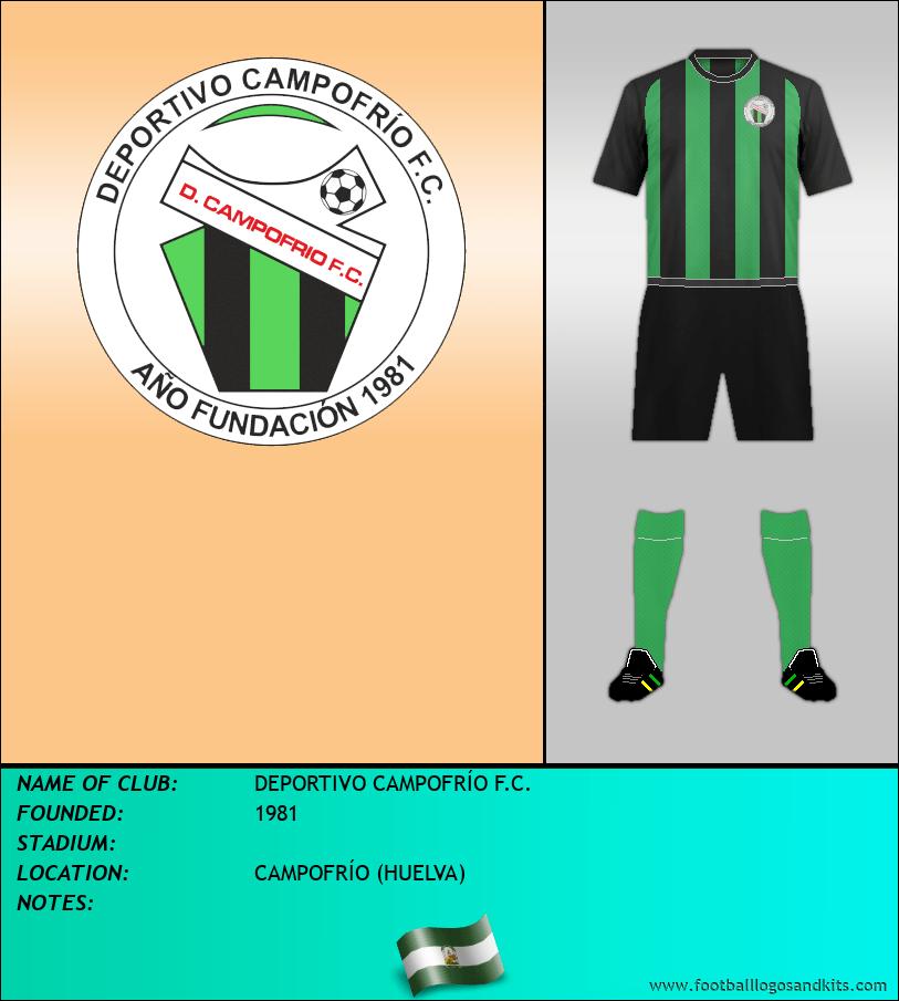 Logo of DEPORTIVO CAMPOFRÍO F.C.