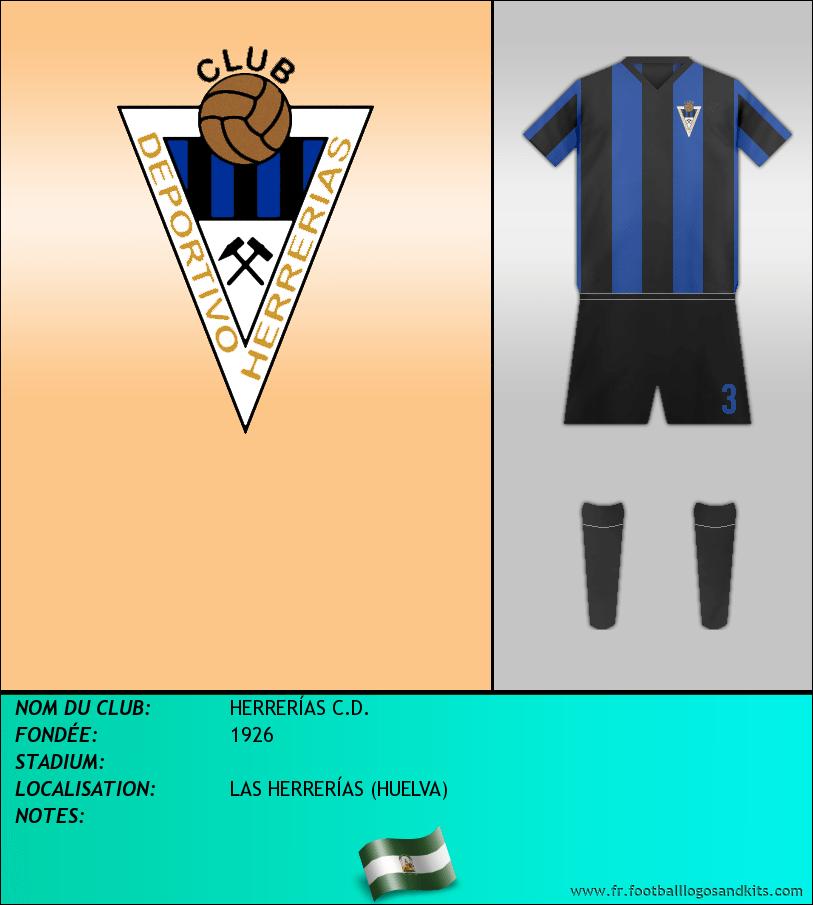 Logo de HERRERÍAS C.D.