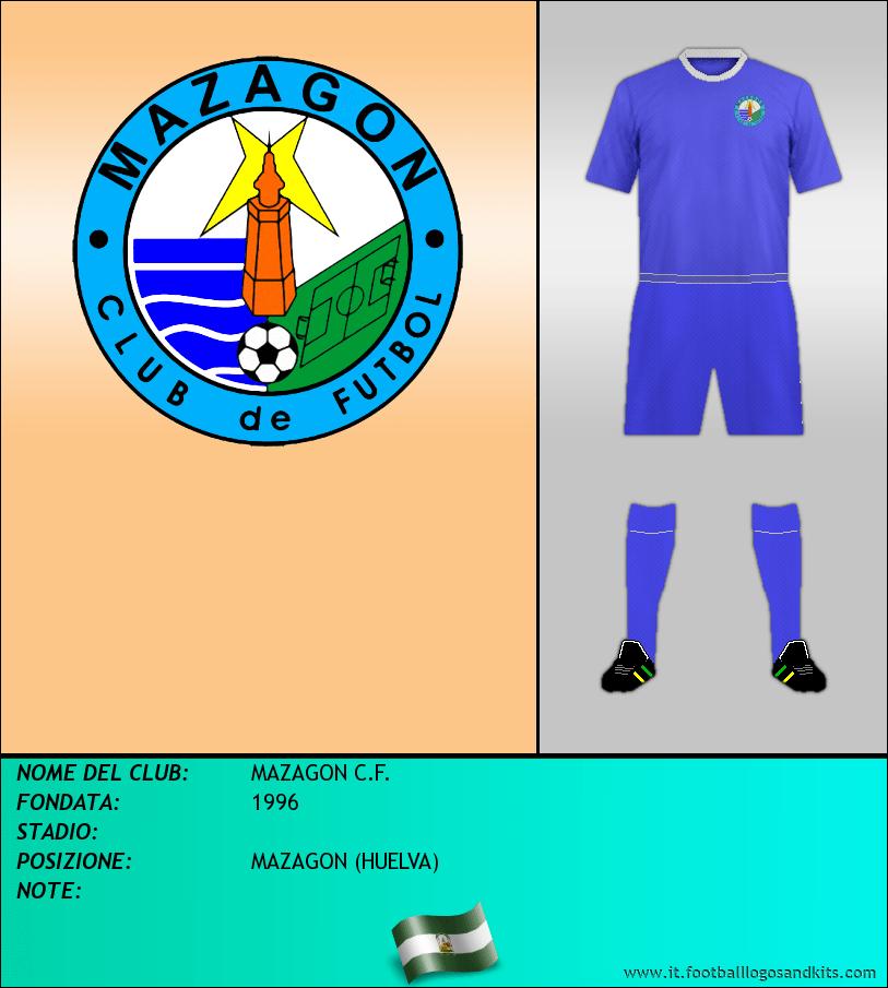 Logo di MAZAGON C.F.