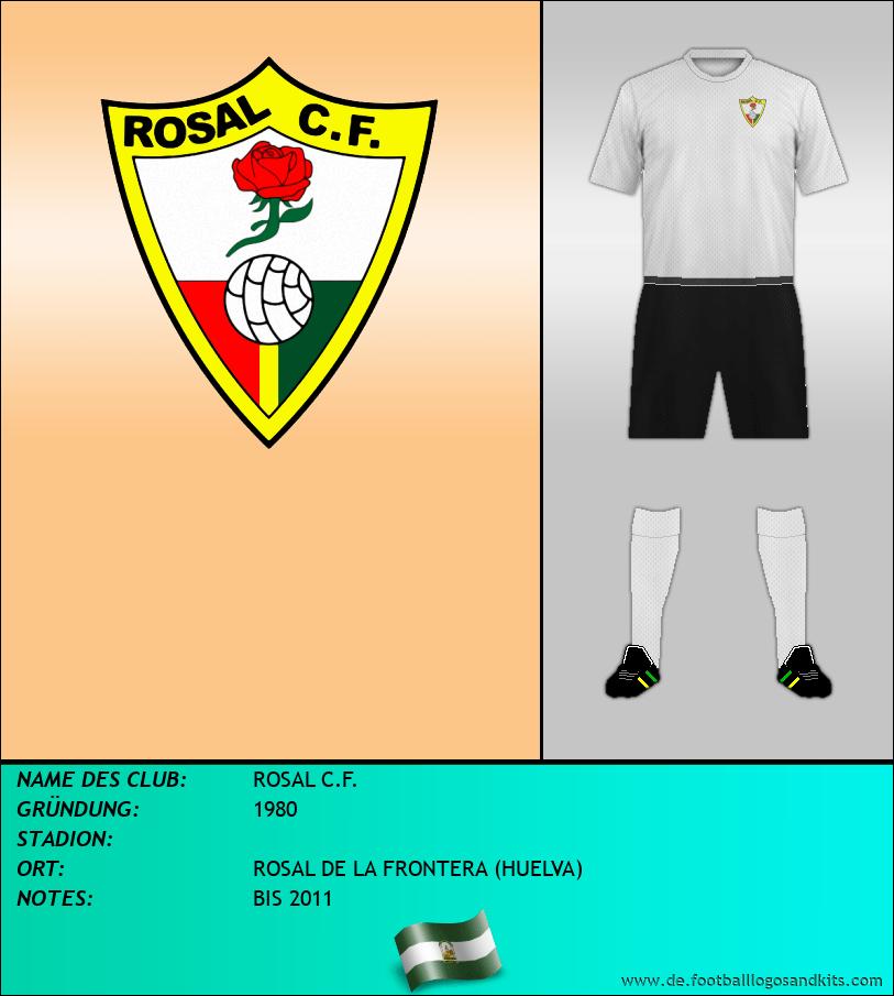 Logo ROSAL C.F.