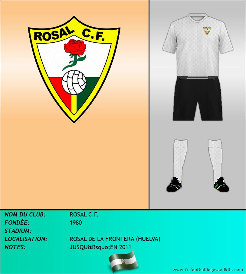 Logo de ROSAL C.F.