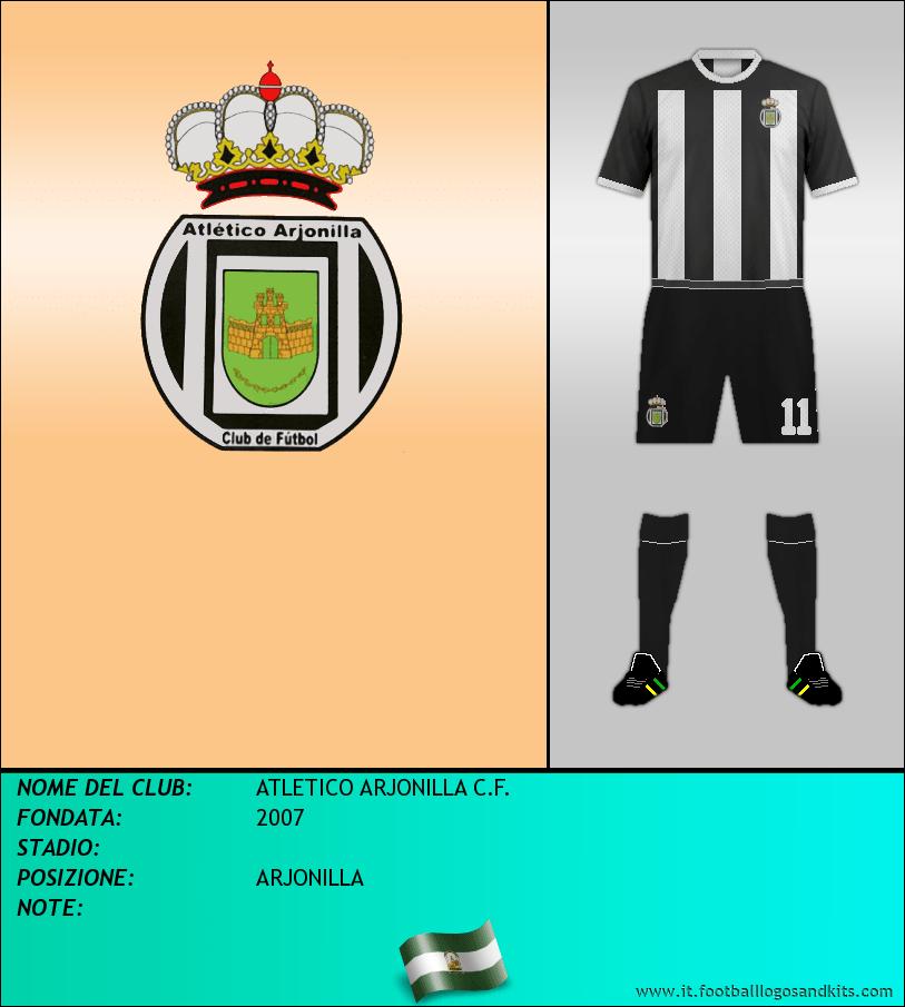 Logo di ATLETICO ARJONILLA C.F.