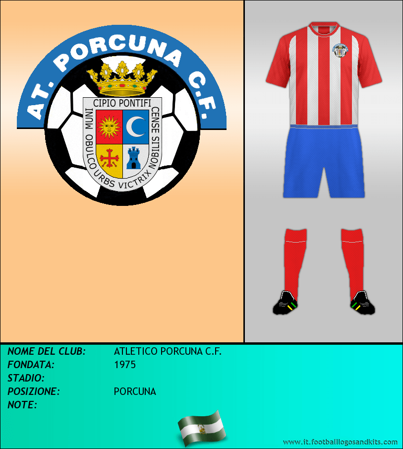 Logo di ATLETICO PORCUNA C.F.