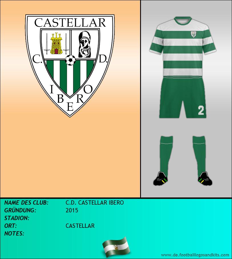 Logo C.D. CASTELLAR IBERO