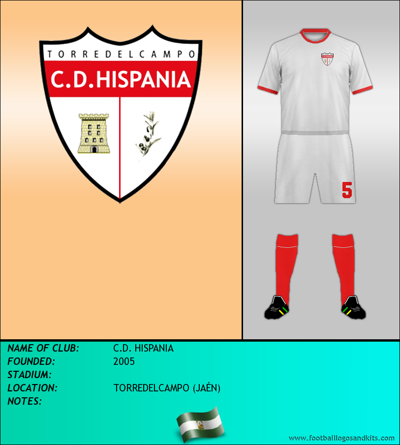 Logo of C.D. HISPANIA