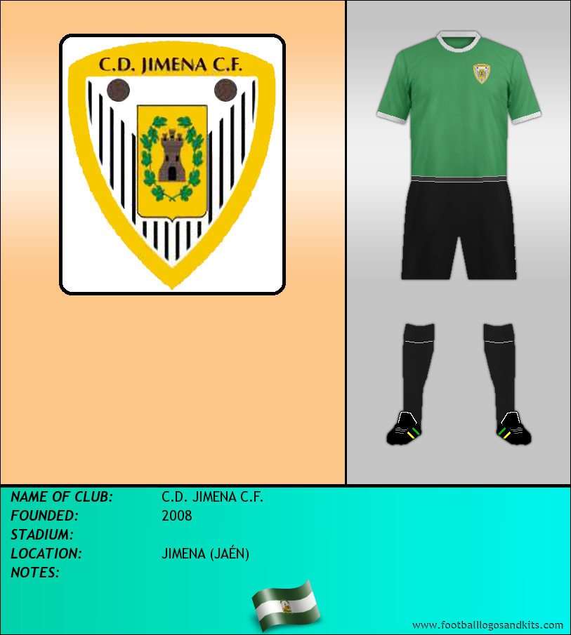Logo of C.D. JIMENA C.F.