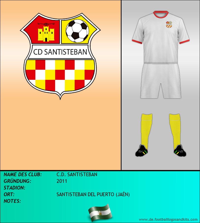 Logo C.D. SANTISTEBAN