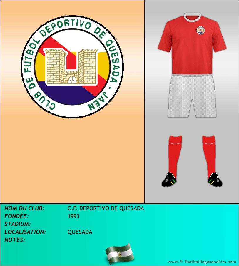 Logo de C.F. DEPORTIVO DE QUESADA