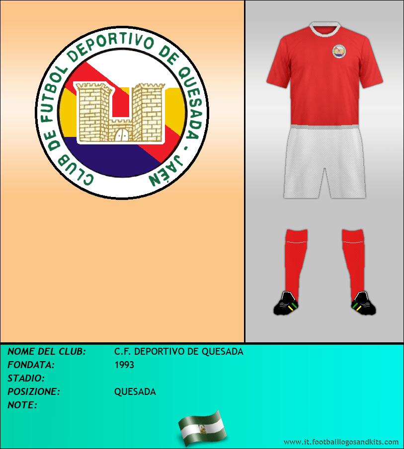 Logo di C.F. DEPORTIVO DE QUESADA