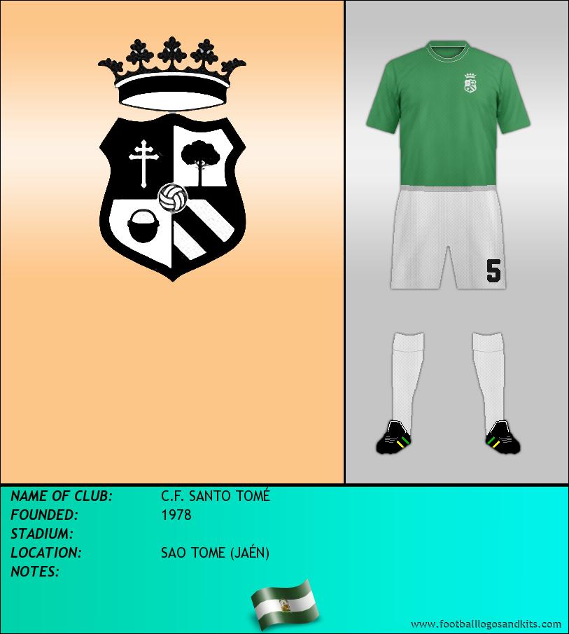 Logo of C.F. SANTO TOMÉ