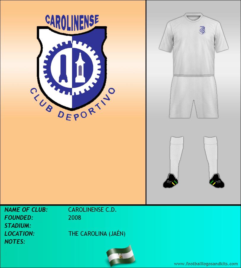 Logo of CAROLINENSE C.D.