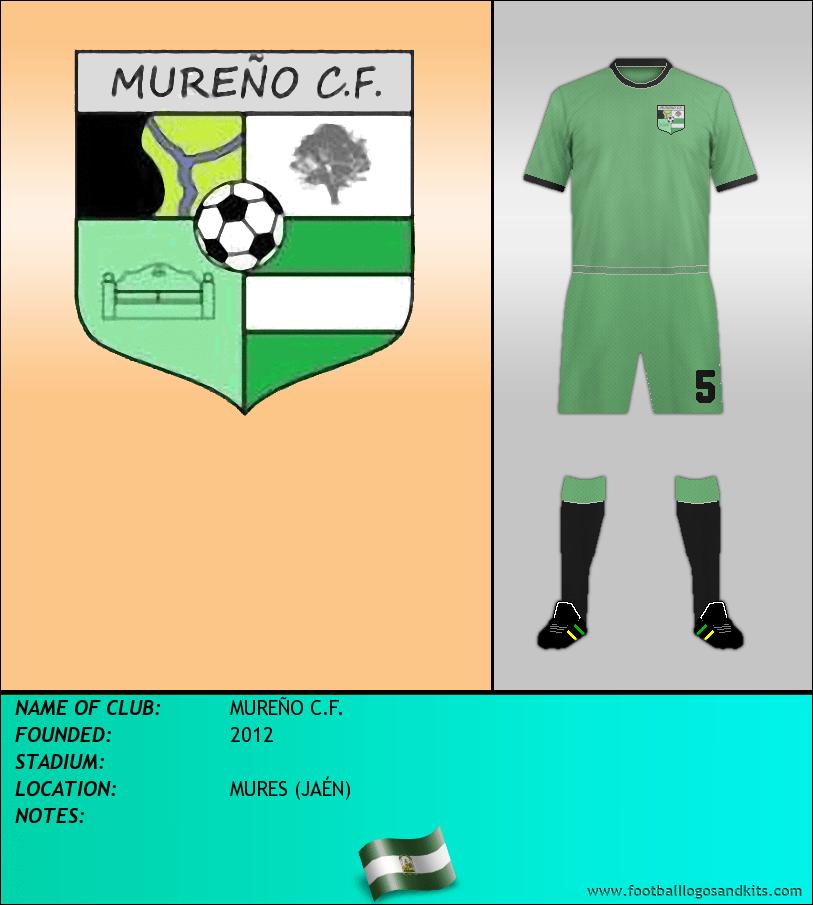 Logo of MUREÑO C.F.