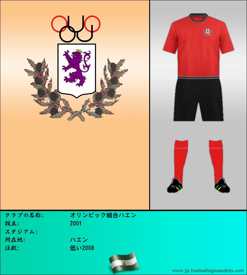 のロゴオリンピック組合ハエン
