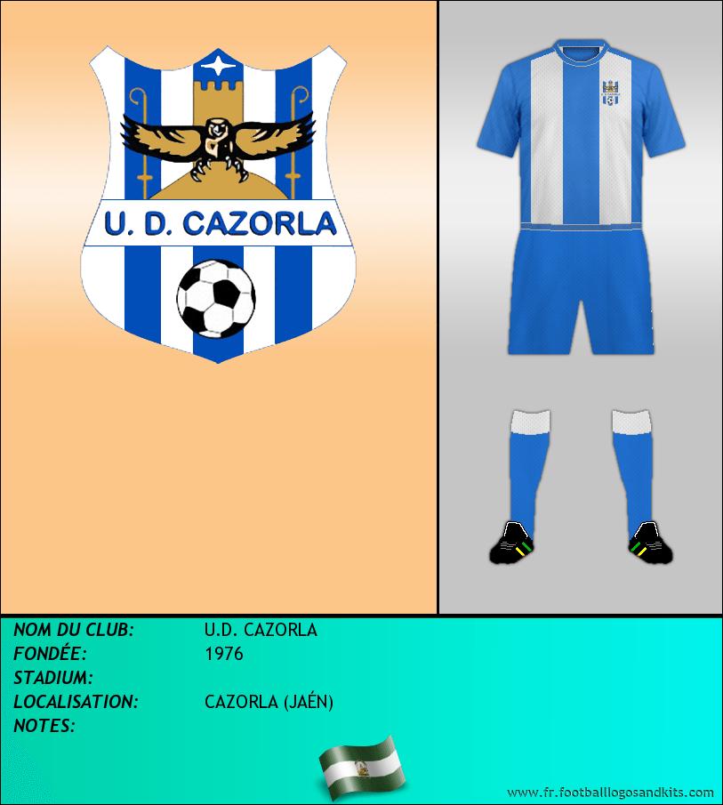 Logo de U.D. CAZORLA