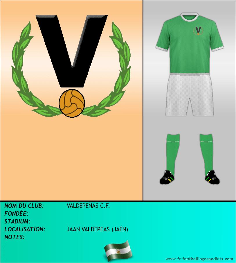 Logo de VALDEPEÑAS C.F.