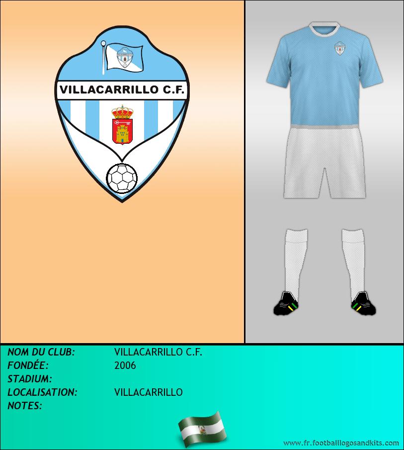 Logo de VILLACARRILLO C.F.