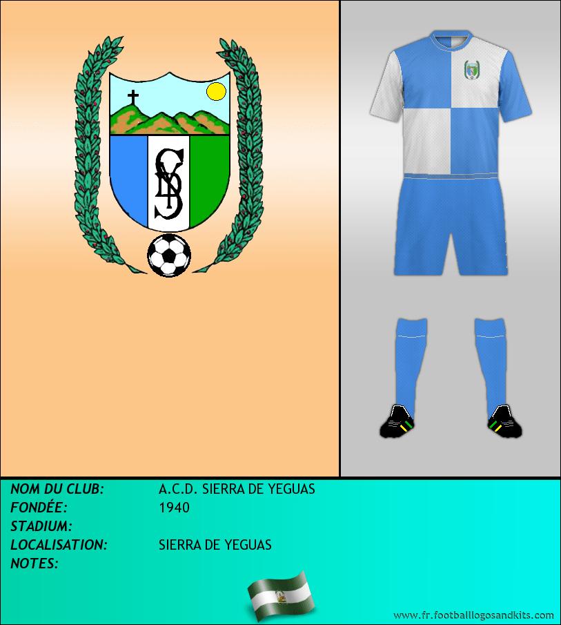 Logo de A.C.D. SIERRA DE YEGUAS