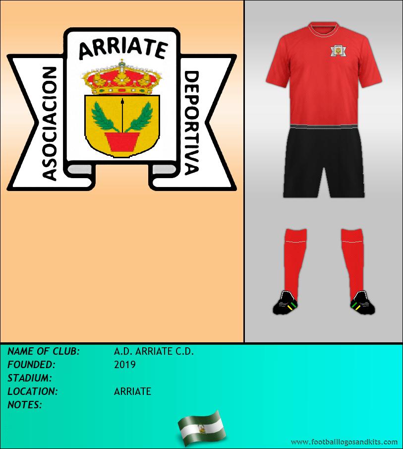 Logo of A.D. ARRIATE C.D.