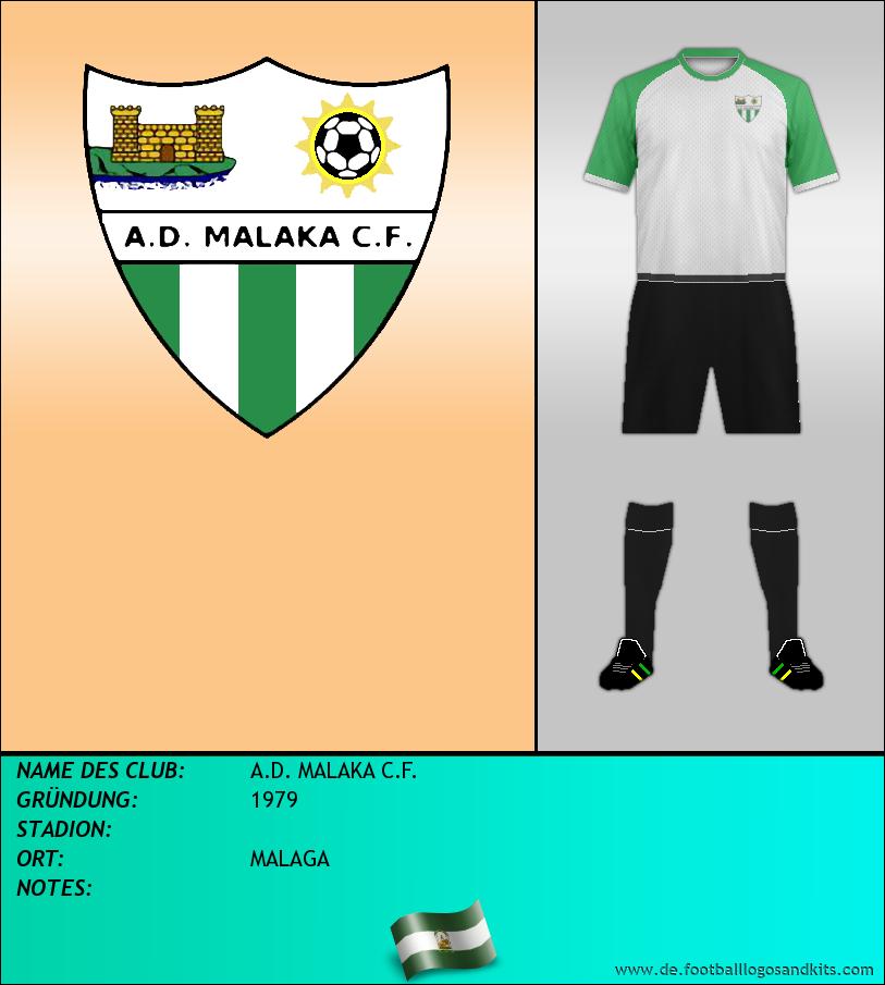 Logo A.D. MALAKA C.F.