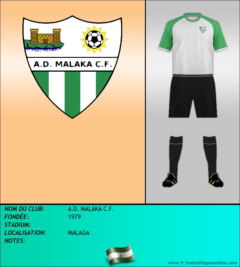 Logo de A.D. MALAKA C.F.