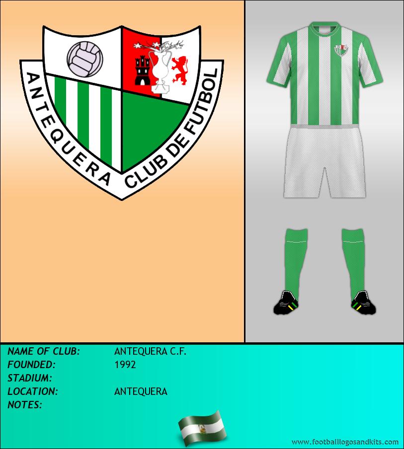 Logo of ANTEQUERA C.F.
