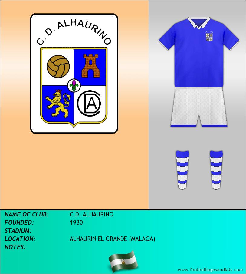 Logo of C.D. ALHAURINO