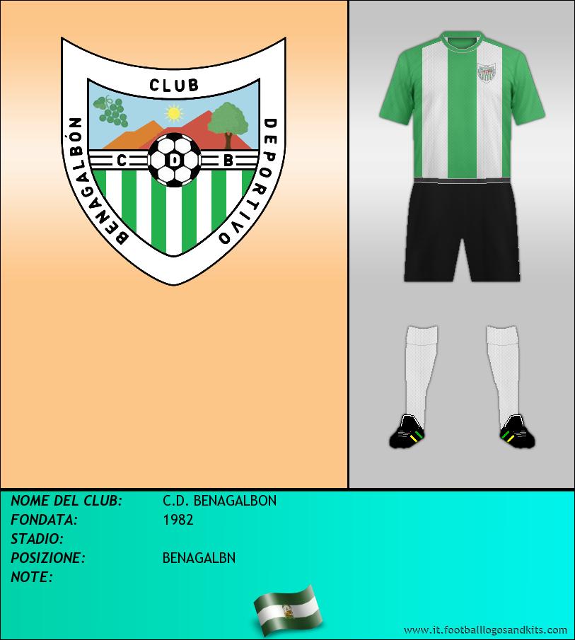 Logo di C.D. BENAGALBON