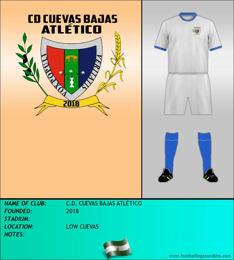 Logo of C.D. CUEVAS BAJAS ATLÉTICO