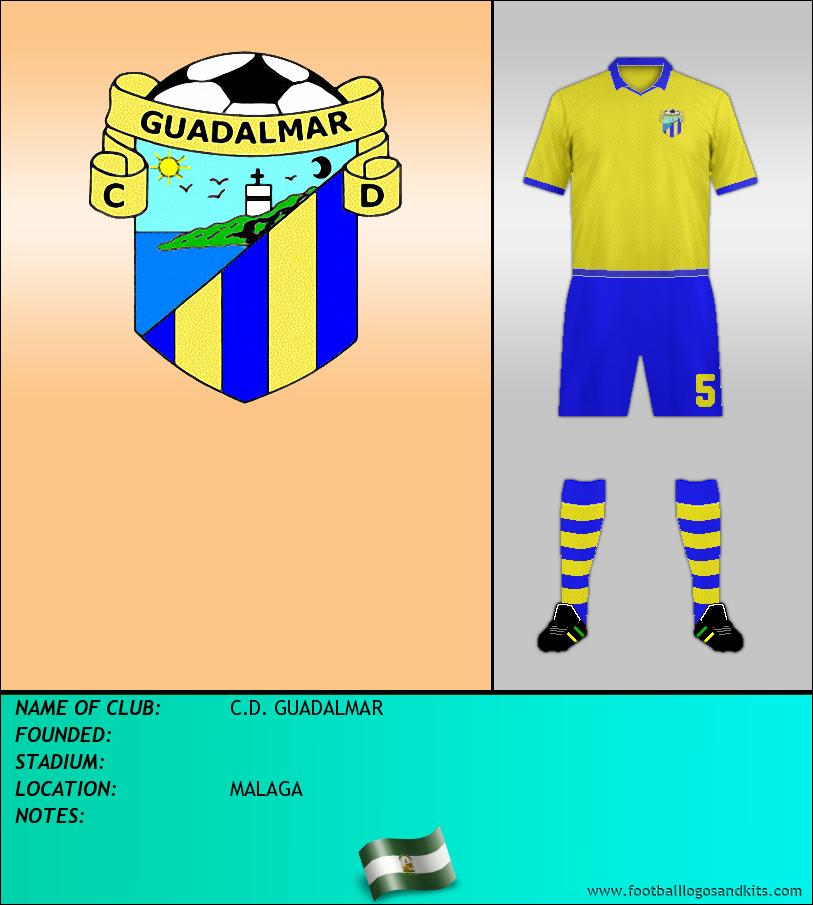 Logo of C.D. GUADALMAR