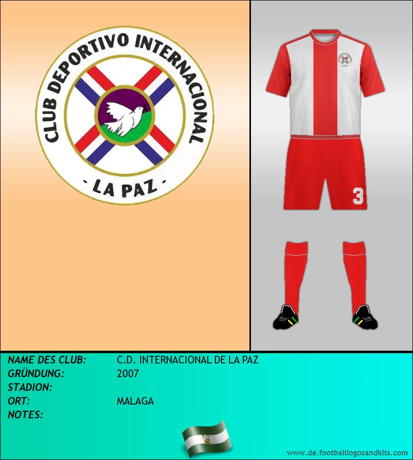 Logo C.D. INTERNACIONAL DE LA PAZ