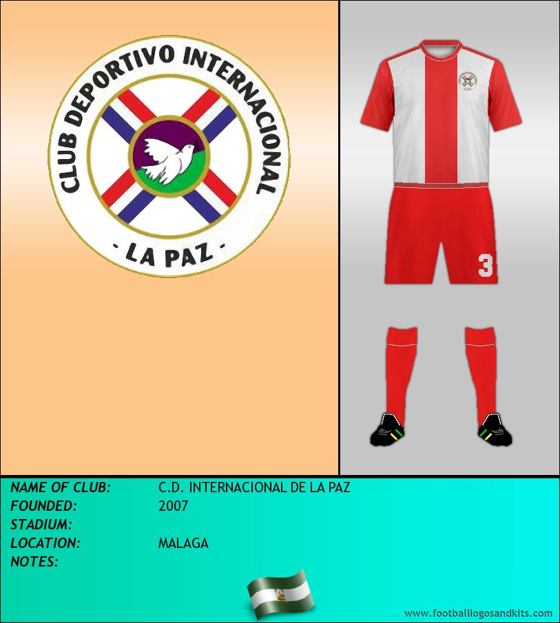 Logo of C.D. INTERNACIONAL DE LA PAZ