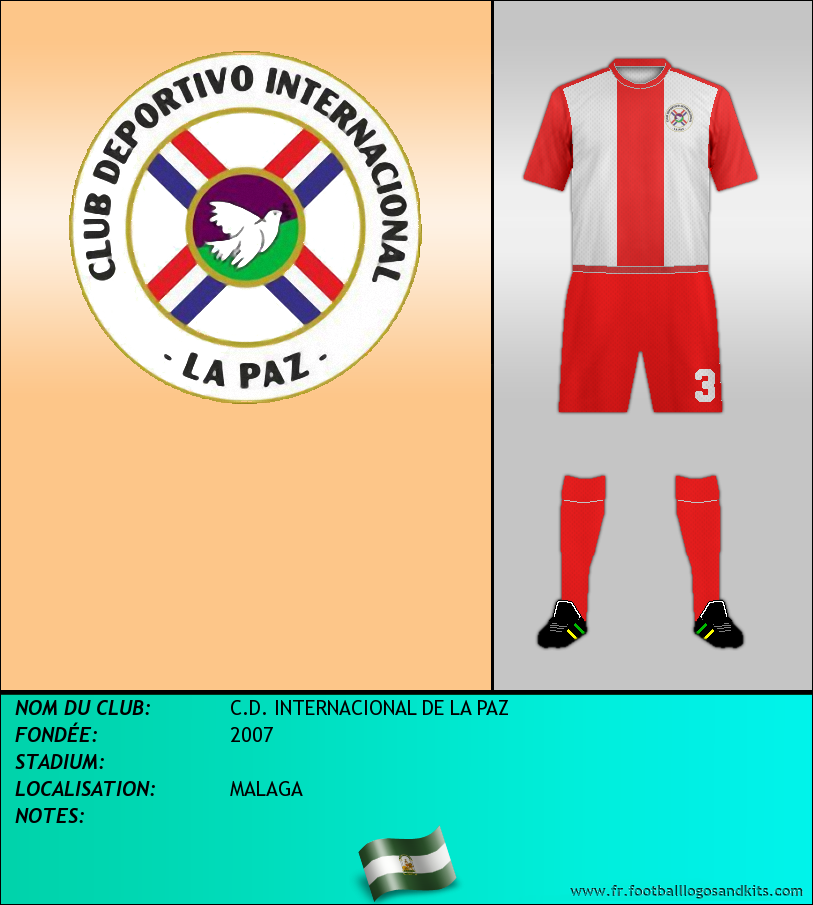 Logo de C.D. INTERNACIONAL DE LA PAZ