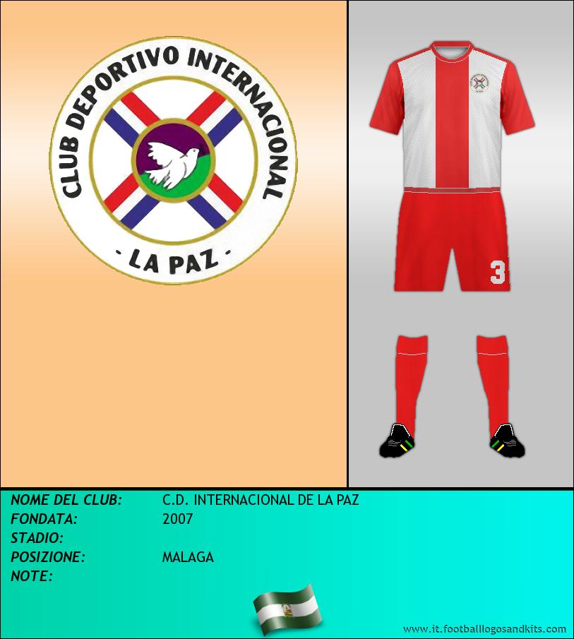 Logo di C.D. INTERNACIONAL DE LA PAZ