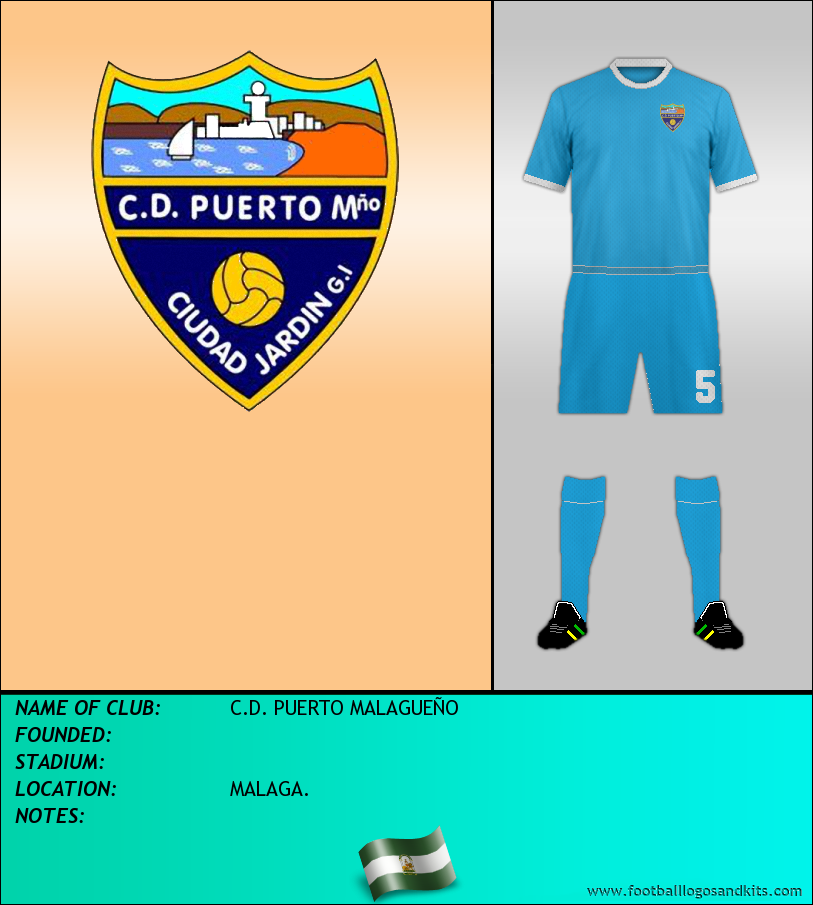 Logo of C.D. PUERTO MALAGUEÑO
