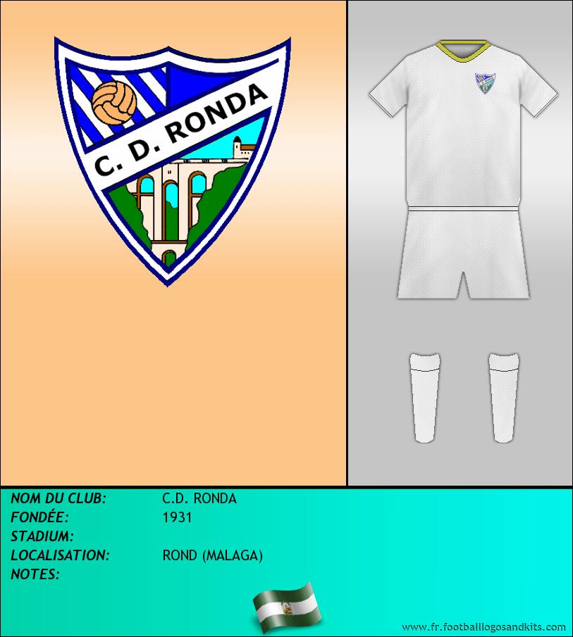 Logo de C.D. RONDA