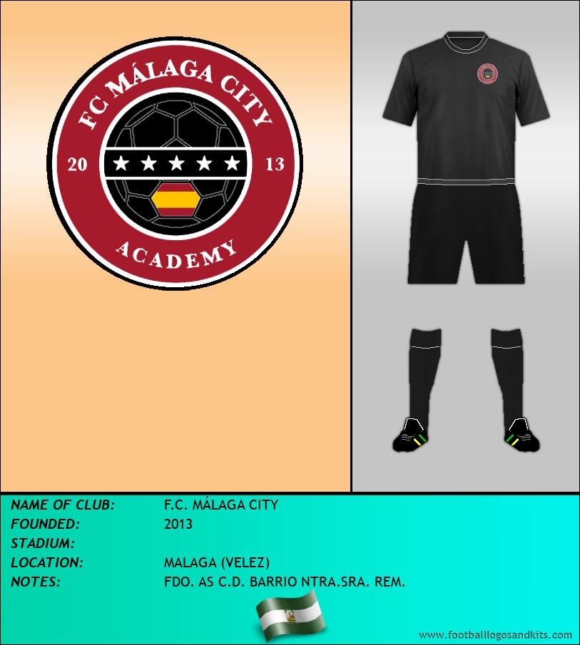 Logo of F.C. MÁLAGA CITY