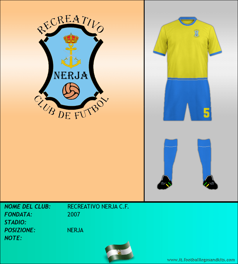 Logo di RECREATIVO NERJA C.F.