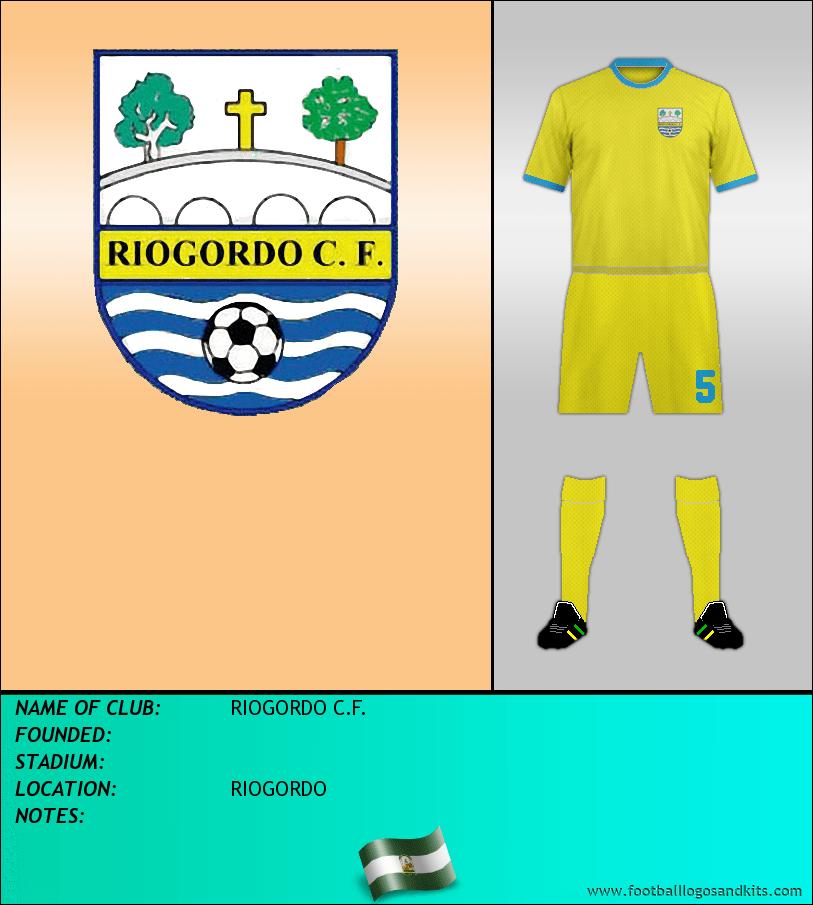 Logo of RIOGORDO C.F.