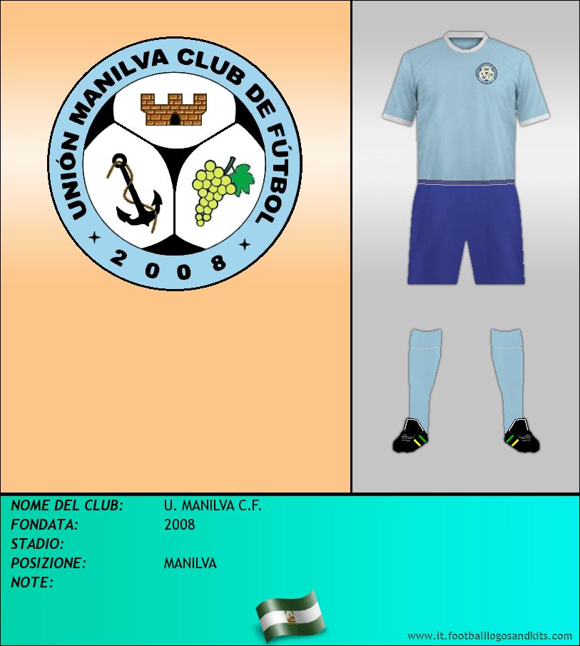 Logo di U. MANILVA C.F.