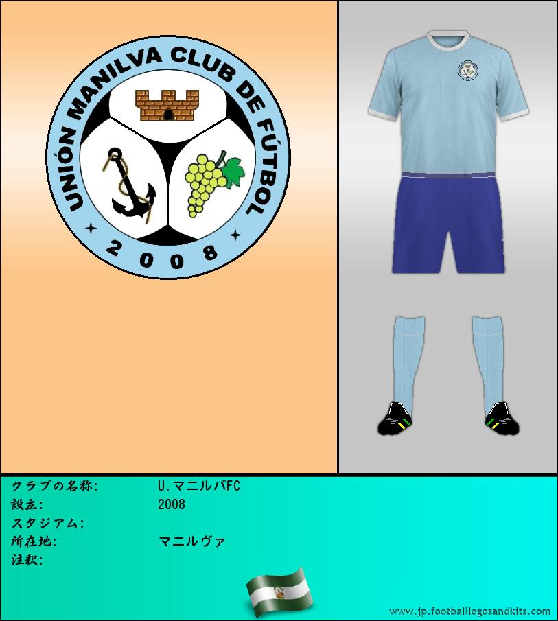 のロゴU マニヴァ C. F.
