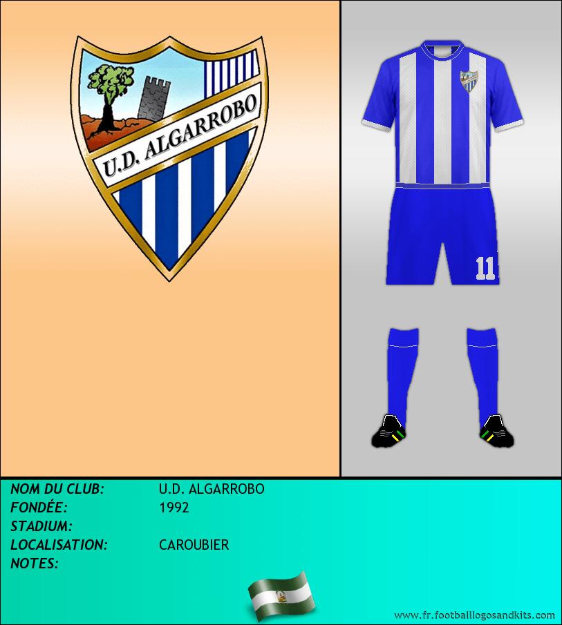 Logo de U.D. ALGARROBO