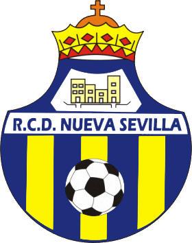 のロゴ新しいクラブレアルセビリア (アンダルシア)